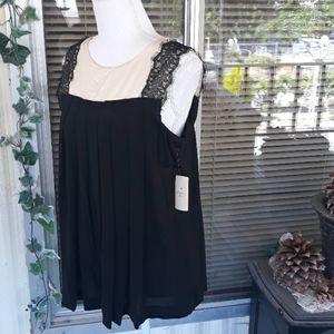 Nwt 21 sleeveless lace blouse